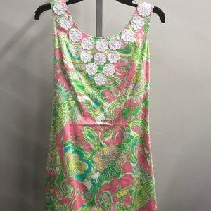 Lilly Pulitzer floral print sleeveless dress